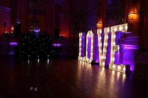 danesfield house wedding dj blog With large light up letters for wedding