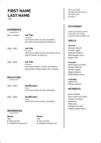 cv template career academy singapore  courses