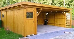 Carport Wohnmobil Selber Bauen : carport mit ger teschuppen carport ratgeber ~ Markanthonyermac.com Haus und Dekorationen