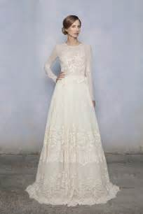 wedding gowns with sleeves the elegance of lace sleeve wedding dress ipunya