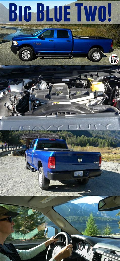 introducing   ram  truck big blue ii