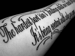 Tattoos For You: Tattoos For Men On Arm Writing