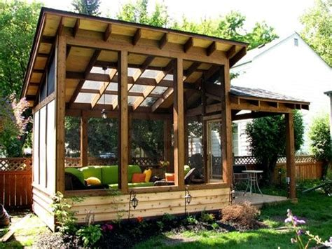 Detached Sunroom by Detached Screen Porch Images D 233 Coration