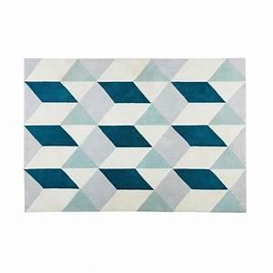 Tapis Scandinave Maison Du Monde : andy tapis contemporain maisons du monde decofinder ~ Nature-et-papiers.com Idées de Décoration