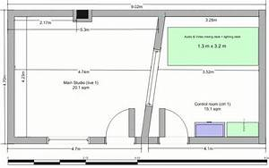 small home recording studio floor plan With home recording studio design plans
