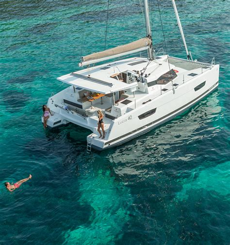 Catamaran Lucia 40 by Catamarans Sailboat Lucia 40 Fountaine Pajot