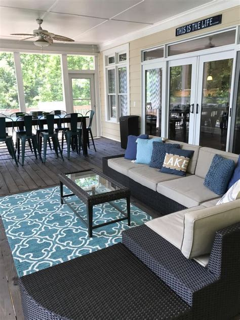Cheap Porch Furniture by 15 Screened In Porch Ideas With Stunning Design Concept