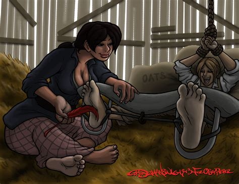 Red Dead Redemption Bonnie Bound In The Barn By