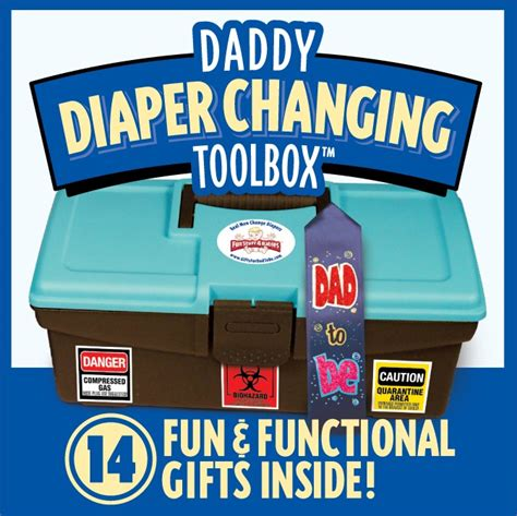 gifts for time dads fun stuff 4 babies daddy diaper changing toolbox momstart
