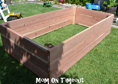 garden planter boxes diy garden planter box tutorial