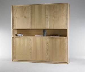 Meuble Lit Escamotable : lit rabattable escamotable aravis meubles ~ Farleysfitness.com Idées de Décoration