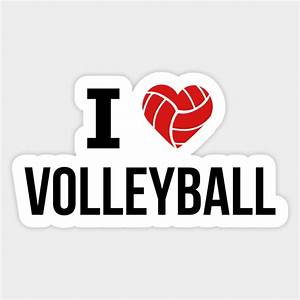 I, Love, Volleyball, -, Volleyball