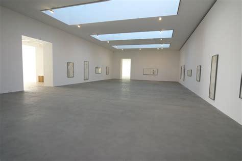 gallery floor shot blasted concrete floors gagosian gallery steyson granolithic contractors ltd