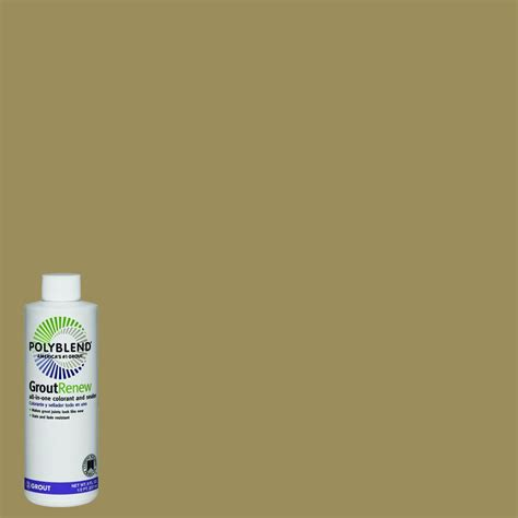 polyblend grout renew colors custom building products polyblend 380 haystack 8 oz