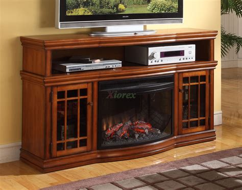 tv cabinet with fireplace brown wooden tv cabinet with glass door and black metal
