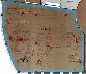 Diagram Of The Library   Columbine