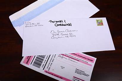 Envelope Address Private Letter Mail Company Addressing