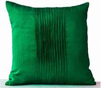 throw pillows for couch Decorative Pillow For Couch Throw Pillows in Emerald Green