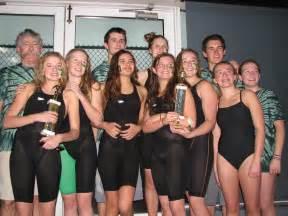 High School Girls Swim Team
