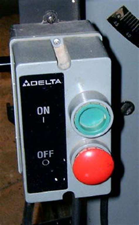 delta table saw power switch magnetic power switch for woodworking machinery