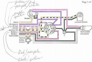 Yamaha Outboard Ignition Switch Wiring Diagram Marine