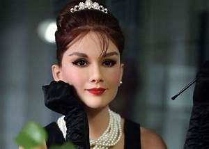 Custom Made Audrey Hepburn Wax Figure Famous Wax Statues ...