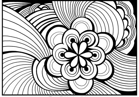 Free Printable Abstract Pictures To Color For Adults