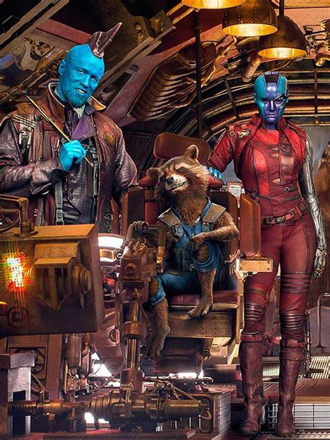 yondu rocket racoon nebula  marvels guardians