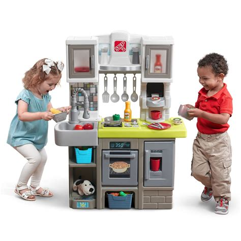 step 2 country kitchen contemporary chef kitchen play kitchen step2 5798