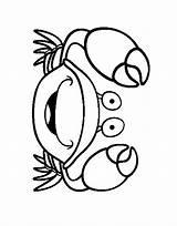 Crab Coloring Pages Print Coloring2print sketch template