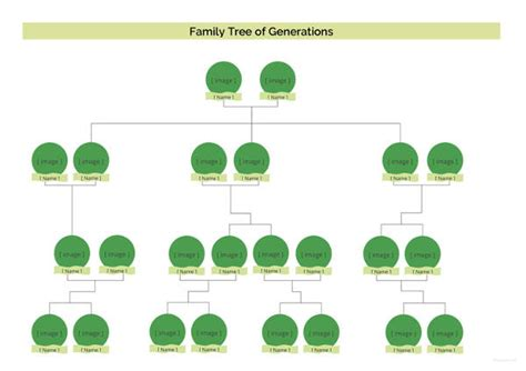 Four Generation Family Tree Template Free Simple Family Tree Template 27 Free Word Excel Pdf