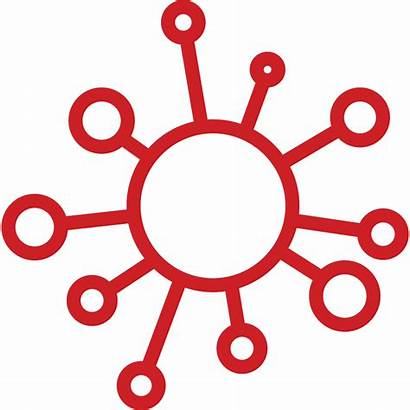 Virus Hiv Clipart Icon Transparent Hub Complex