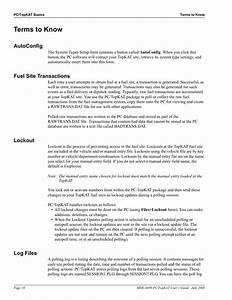 Terms To Know  Autoconfig  Fuel Site Transactions