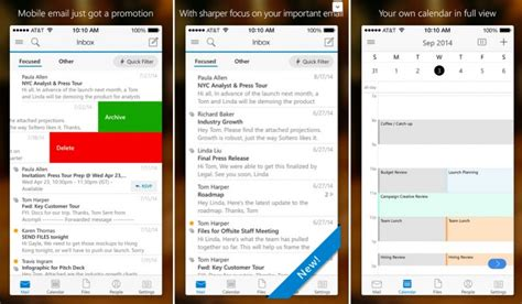 microsoft launches outlook for ios with icloud gmail yahoo mail support macrumors