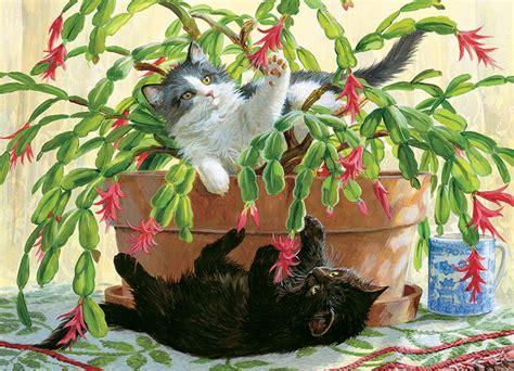 Cactus Kitties Jigsaw Puzzle