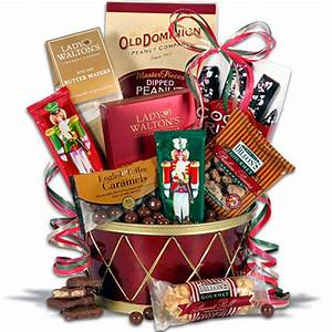 Nutcracker Drum Christmas Gift Basket from