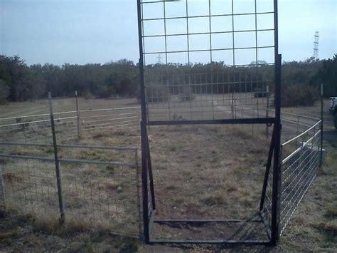 hog trap trapping hawg hunting craigslist stuff easttexas
