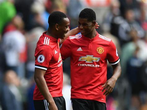 Jose Mourinho explains why Anthony Martial and Marcus ...