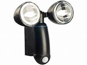 Led Spots Außenbeleuchtung : lunartec duo solar strahler mit 1 watt leds pir bewegungsmelder ~ Markanthonyermac.com Haus und Dekorationen