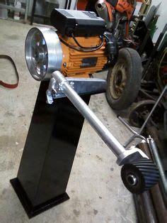 linisher homemade linisher powered    hp motor
