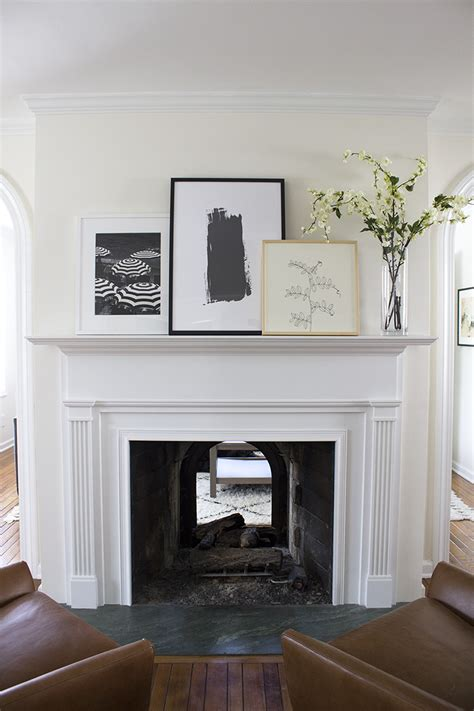 Fireplace Mantle Styled  Ways Room  Tuesday