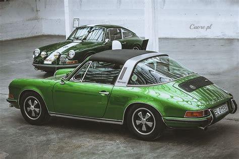 green porsche 911 porsche 911 targa green cars motorcycles pinterest