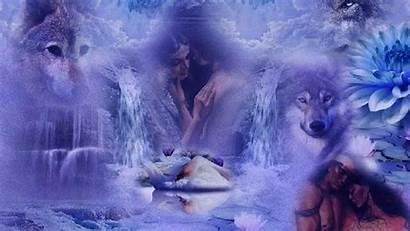 Native American Desktop Wolf Indian Spirit Wallpapers