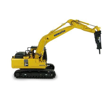 komatsu pclc  whammer drill excavator diecast replica  universal hobbies ahm group