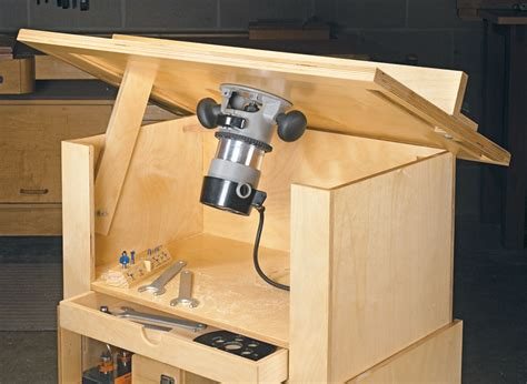 quick easy router table woodworking project