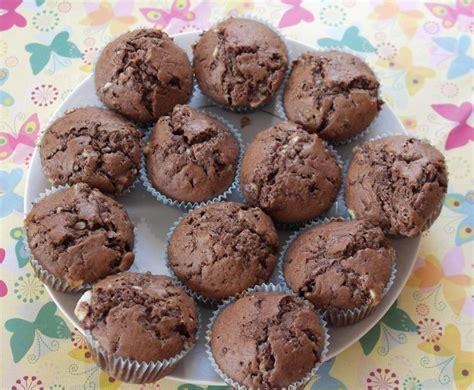 kinderschokolade kuchen rezept muffins mit kinderschokolade rezept backen in 2019