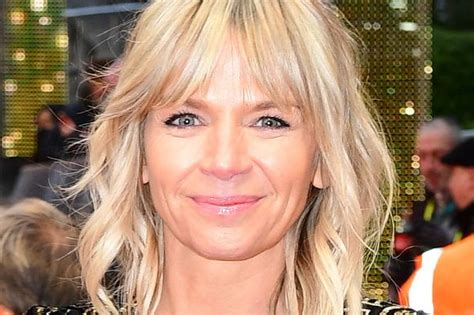 Zoe Ball says she's 'hot and hairy' after starting the ...
