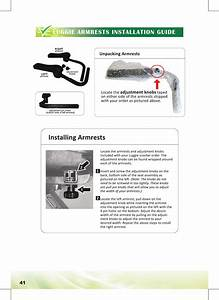 Luggie Armrests Installation Guide