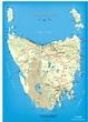 Explor With AutoRent - Map Of Tasmania - AutoRent Hertz