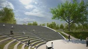 As U00ed Se Ver U00e1 El Anfiteatro Siglo 21  Una Suerte De Teatro Griego Para 600 Personas